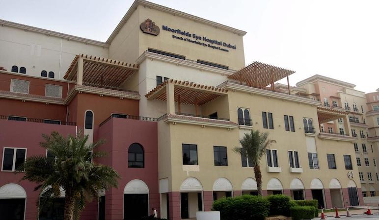 moorfields eye hospital dubai