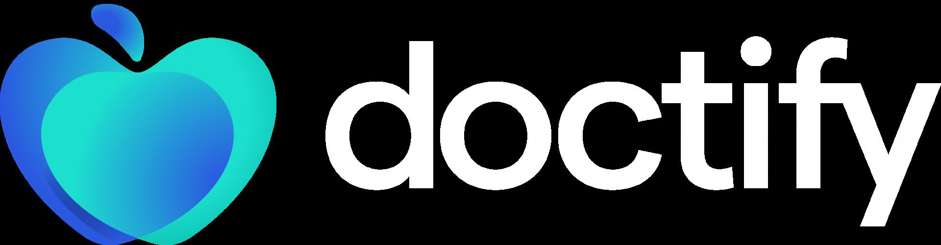 Doctify logo light